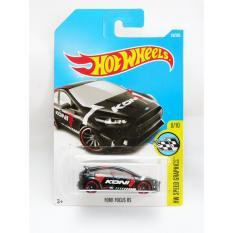 Hot Wheels Ford Focus RS 'Koni' - hitam