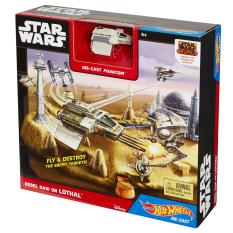 Hot Wheels Star Wars Starship Battle of Lothal Track Set