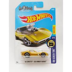 Hotwheels '68 Corvette - Gas Monkey Garage