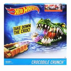 HotWheels Trackset Crocodile Crunch