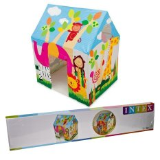 Intex 45642 Tenda Rumah Bermain Anak / Tenda Anak Colorful motif jungle