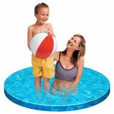 Intex Glossy Panel Ball 41cm. Balon Mainan Anak Di Pantai/Kolam Renang/Rumah