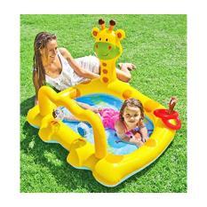 INTEX Kolam Renang Anak SMILEY GIRAFFE BABY POOL - 57105