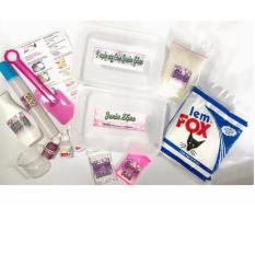 Jumbo Slime Kit Paket Membuat Slaim Besar