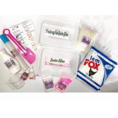Jumbo Slime Kit Paket Membuat Slaim Besar Jumbo Slime Maker
