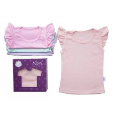 Kazel - Ruffle Shirt for Girl - Pastel