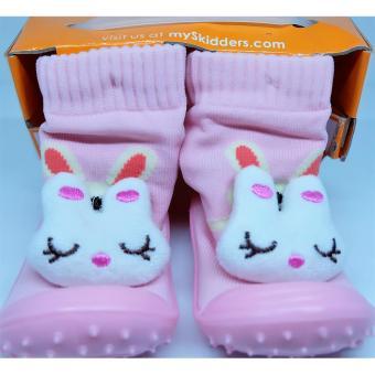 KrMart skidder sepatu bayi cewek - carakter kelinci uk.19