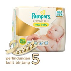 [LIMITED LINE PROMO] Pampers Premium Care Popok Perekat - NB-28
