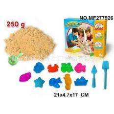 Mainan Edukasi Kinetik Sand Pasir Kinetik 250gr Dengan Cetakan