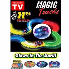 Mainan Mobil Menyala Dengan Magic Tracks Glow In The Dark