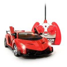 Mainan88 RC Mobil Lamborghini Veneno Skala 1/24 Pintu Buka Tutup dengan Remote - Merah