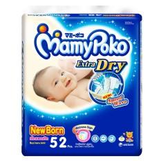 MamyPoko Popok Tape Extra Dry New Born 52 - Karton Isi 2