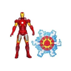 Marvel Avengers Movie 10cm Action Figure Fusion Armour Iron Man