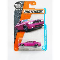 Matchbox Dodge Challenger SRT8 - ungu