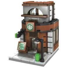 MOMO Toys Sembo Block Coffee Shop SD6013 - Mainan Block Bangunan