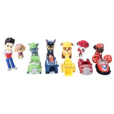 Movie 12Pcs Paw Patrol Marshall Rocky Skye Figure Baby Toys Gift A61 Set - Intl