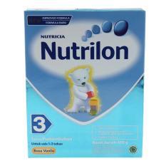 Nutrilon 3 Susu Pertumbuhan Vanila - 400gr