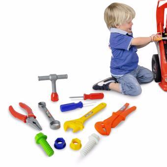 Ocean Toy Tool Set Mainan Pertukangan Rumah OCT7502 - Multicolor