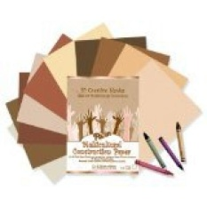 Pacon Multicultural Construction Paper, Assorted Colors, 9-Inches by 12-Inches, 50-Count - intl