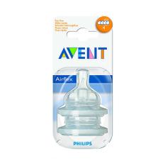 Philips Avent Classic+ Fast flow nipple 6m+ (4 holes) Nipple SCF634/27 Putih
