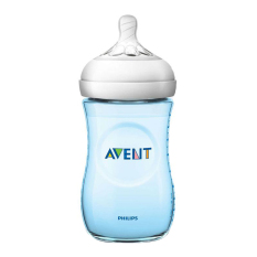 Philips Avent SCF695/13 NATURAL PP 9OZ BOTTLE BLUE SINGLE
