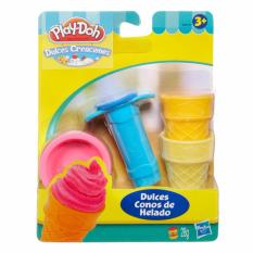Playdoh Make Pretend Soft Serve ICE Creative