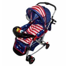 Pliko Rodeo PK-398 USA - Baby Stroller - Kereta Dorong Bayi Rodeo USA