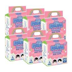 Pokana Baby Pants Premium L20 - isi 6