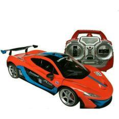 Random House Mainan Mobil Balap RC P1 Super Skala 1:12 Pintu Bisa Buka tutup, Multicolor