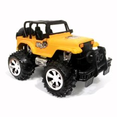 Random House Mainan Mobil Remot Control Jeep Storm Skala 1:24, Kuning