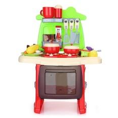 ranxian Child Luxury Simulation Kitchen Tools Kit Pretend Play Toy Birthday Present - intl
