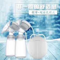 Real Bubeen Double Electric Breast Pumps with 2 Baby Bottles(Readystock ) - intl