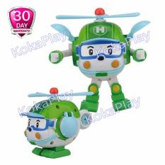 Robocar Poli Transformable Mainan Mobil Robot Berubah Helly