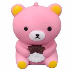 Simulation Cake Baymax Slow Rising Squishy Fun Toys Key Chain 4 inch Rp .