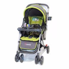 Stroller Pliko Grande With 4 in 1 Features