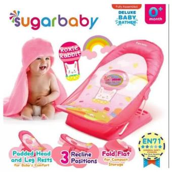 Sugar Baby Deluxe Baby Bather New Motif Pink