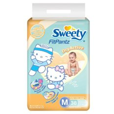 Sweety Diapers Fit Pantz Active Dry M 38