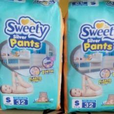 Sweety Silver Pants - S32