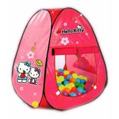 TENDA SEGITIGA HELLO KITTY