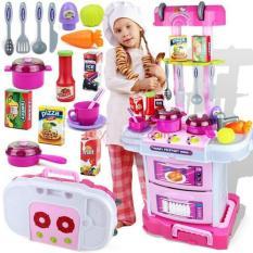 Tomindo Kitchen Koper LIttle Chef 3 in 1 - W097 - Pink