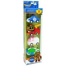 Tomindo Toys Robocar isi 4 pcs