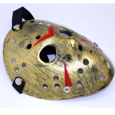 Topeng Jason Voorhees The Friday 13th Gold Edition