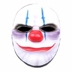 Topeng Payday Chains - Topeng Hellowen - Party Mask MasquWholesale PVC Scary Clown Mask Payday Halloween Mask For Party Mascara Carnaval - 1 Pcs