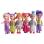 Toylogy Mainan Koleksi Boneka Mini Anak - My Dream Girl Doll Set 7072C-6 pcs - Multicolour