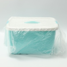 Transparent Packaging White Clear Mail Bag Strong Plastic PE Bag 600mm * 800mm - intl