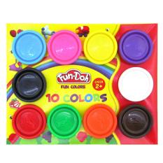TSH Fun Doh Lilin Mainan Refill 10 Warna - Multi Colour