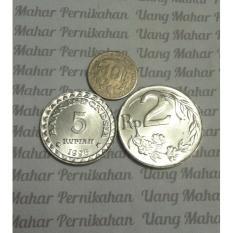 Uang Mahar Pernikahan 17 Rupiah Asli BI Paket Koin1