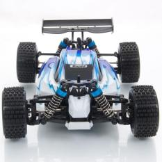 WL Toys A959 VORTEX 1:18 Scale 2.4G 4WD 50KM/H Off-Road Racing Buggy - Biru
