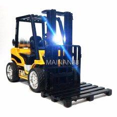 Xinbo Diecast Alat Berat Forklift Skala 1/24 - Kuning