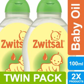 Zwitsal Baby Oil Natural - 100ml TWIN PACK
